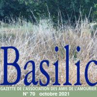 """Basilic N°70 """"Je voudrais parler d'amitié"""""""